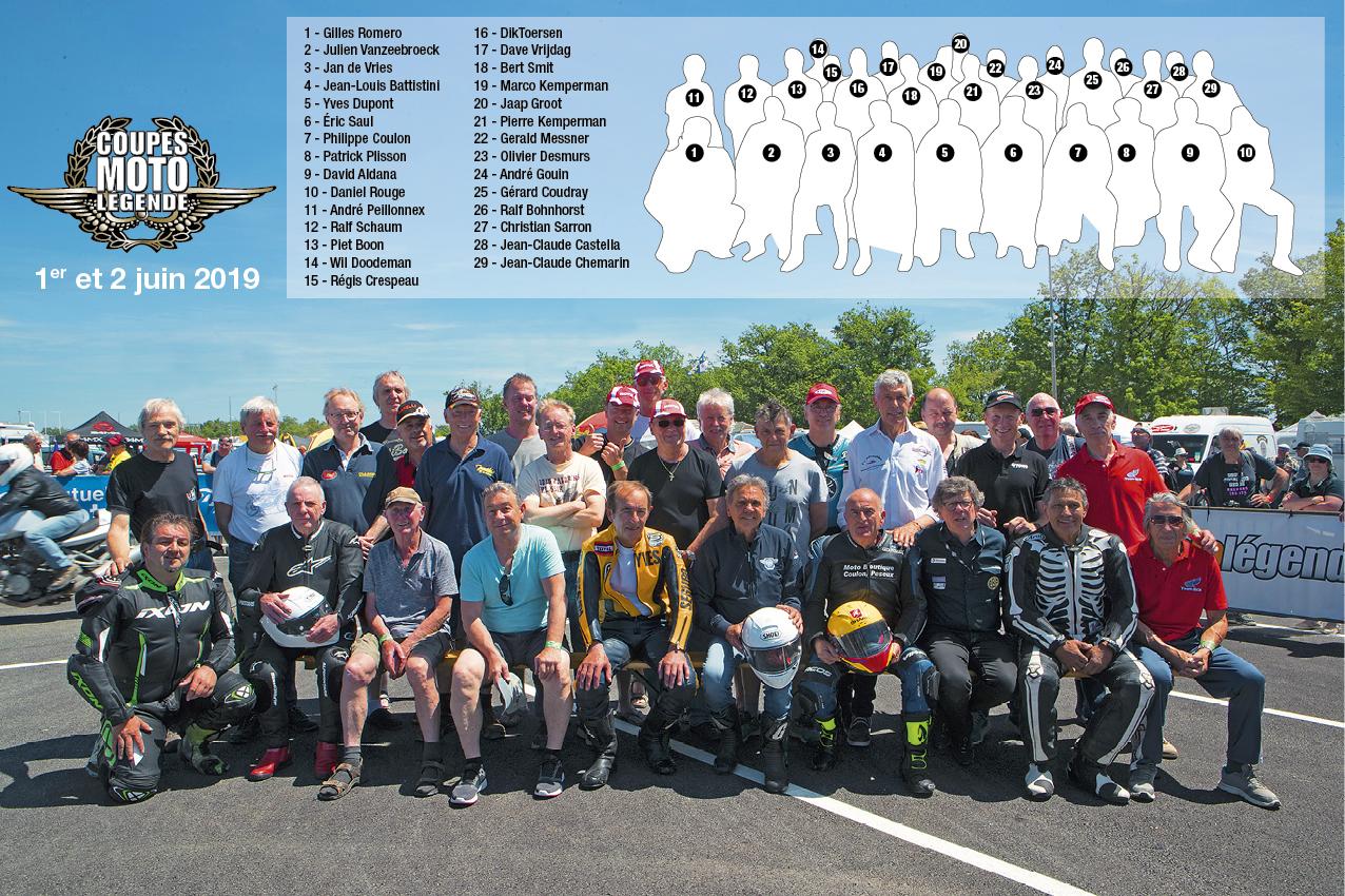 Des champions et des pilotes de légende